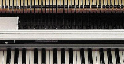 Second Generation Rhodes Mark II Pianos - Inside